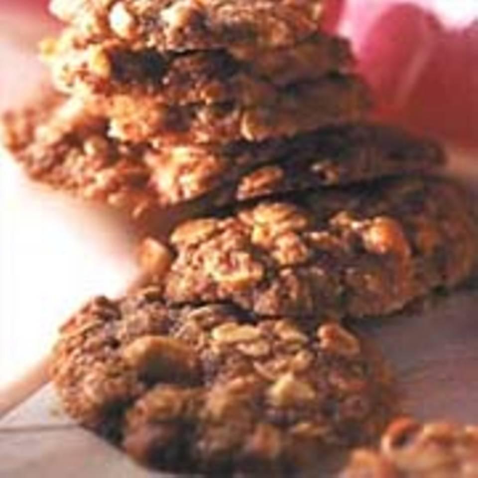 Erdnuss-Hafer-Plätzchen