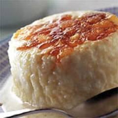 Reiscreme mit Apfelkaramel