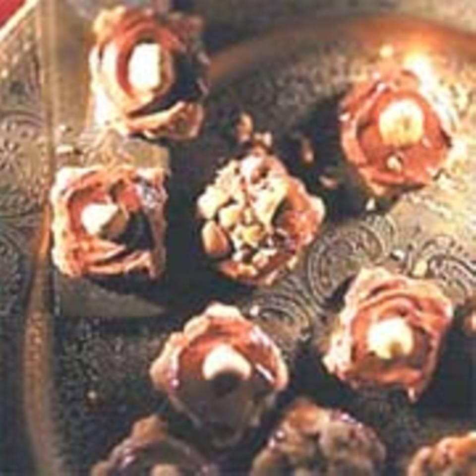 Süße Haselnuss-Cappuccino-Plätzchen