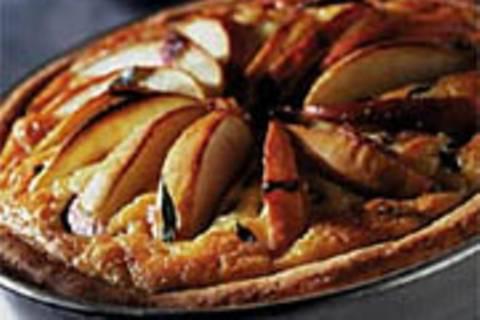 Apfel-Zwiebelkuchen