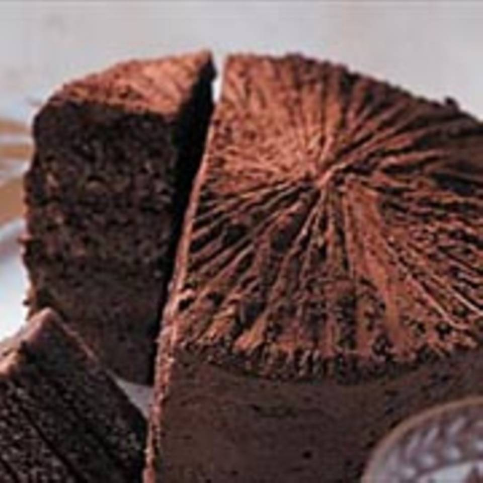 Winterliche Schokoladentorte