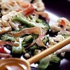Brokkoli-Blumenkohl-Salat