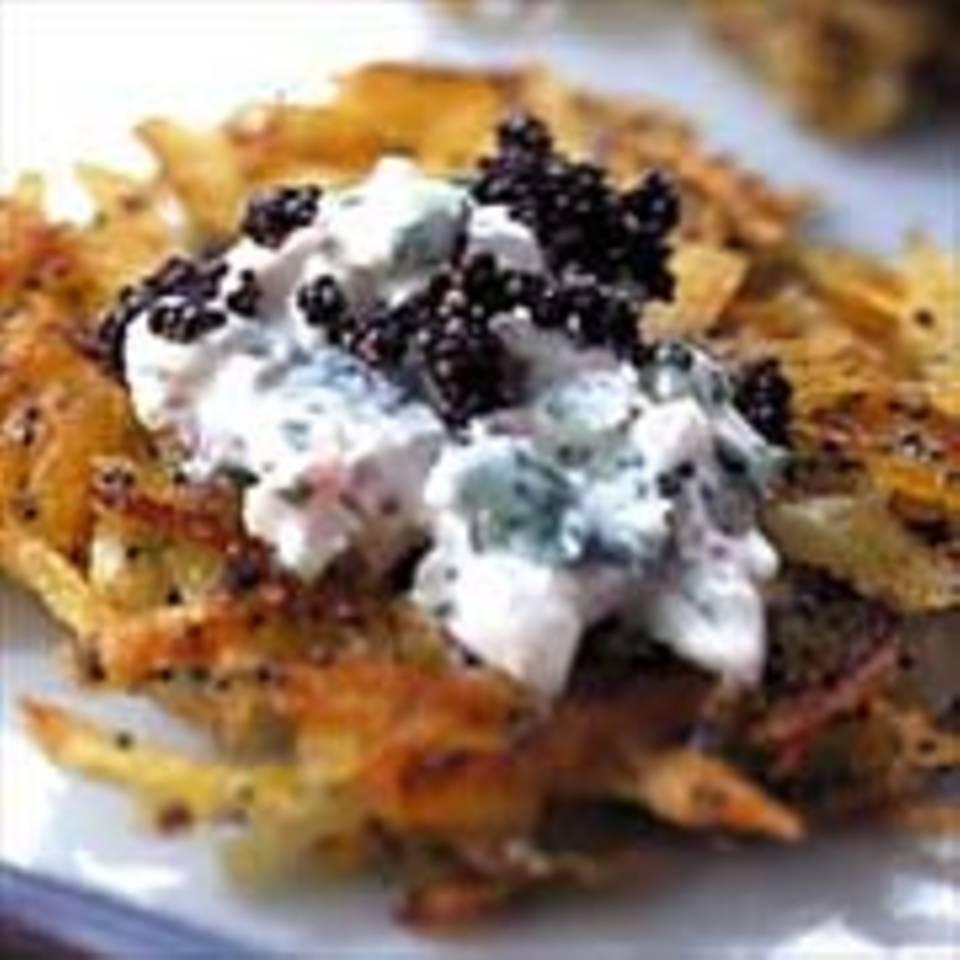 Möhren-Kartoffel-Puffer