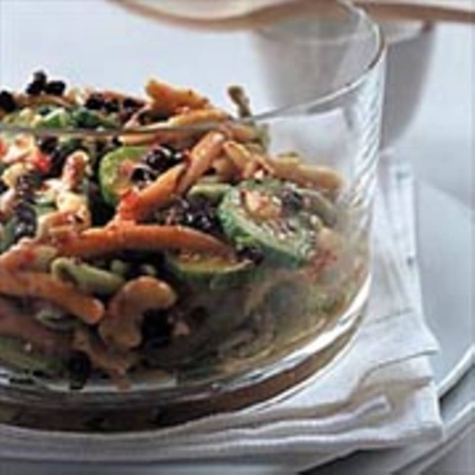 Asiatischer Nudelsalat