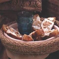 Bruschetta con pecorino - Bruschetta mit Käse