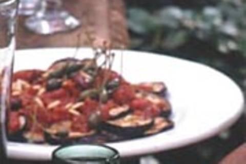 Insalata di melanzane - Salat mit Auberginen
