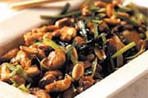 Chilihuhn mit Erdnüssen
