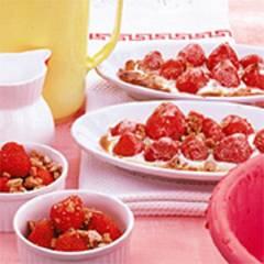 Gratinierte Erdbeeren