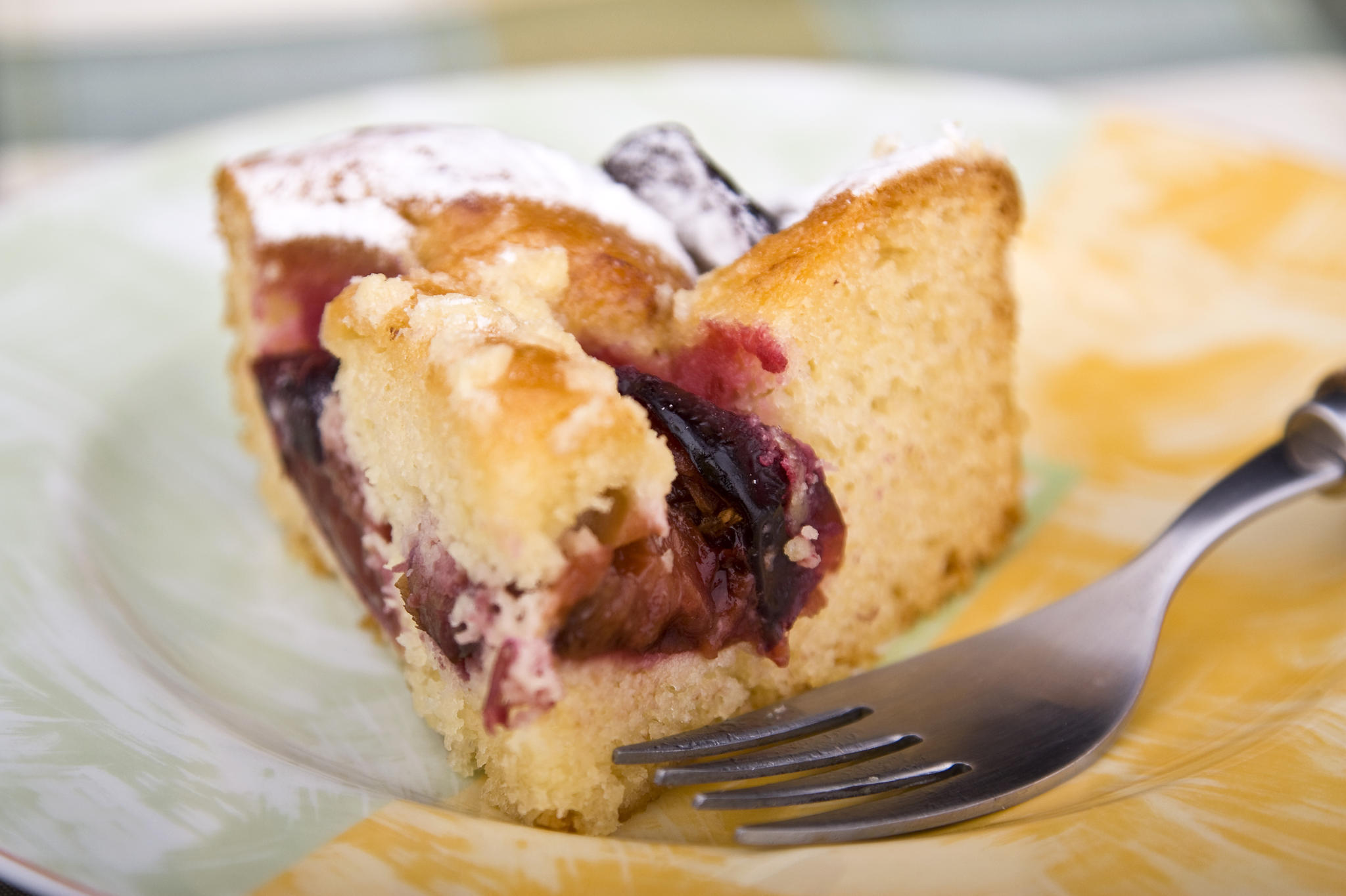 Bretonischer Zwetschgenkuchen