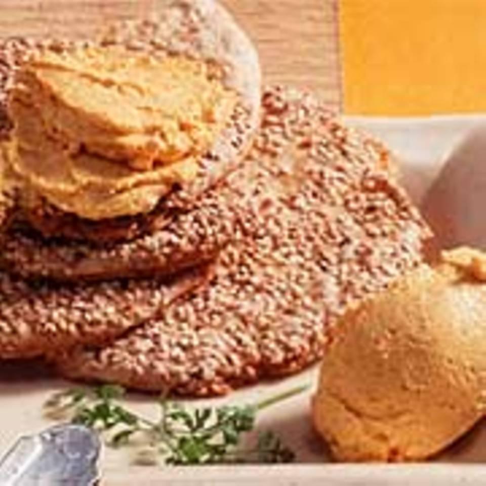 Möhren-Frischkäse-Creme