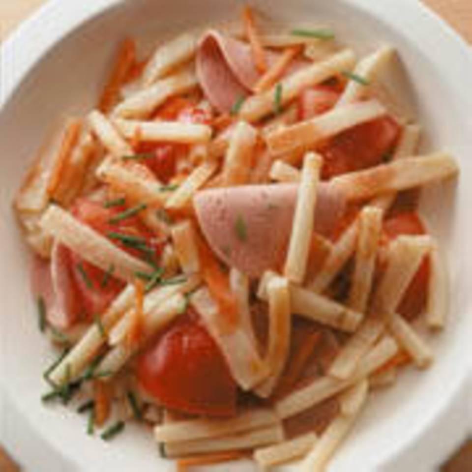 Makkaroni-Wurst-Salat