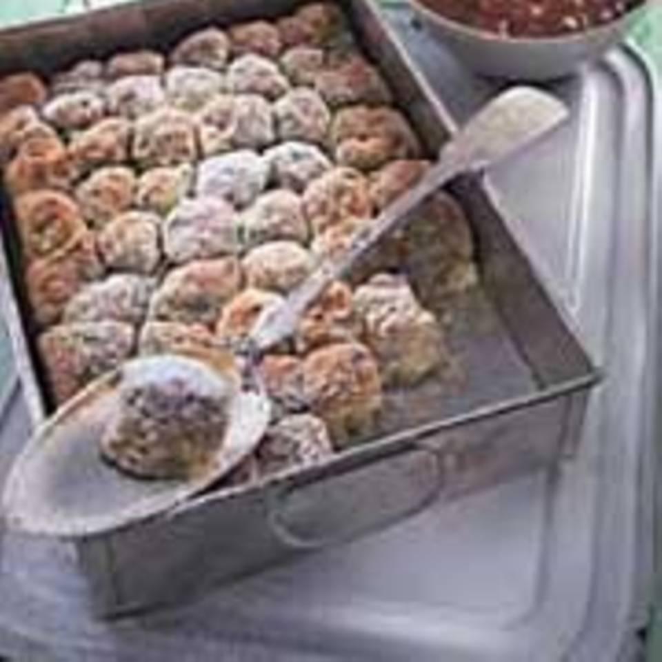 Buchteln mit Süßdolde