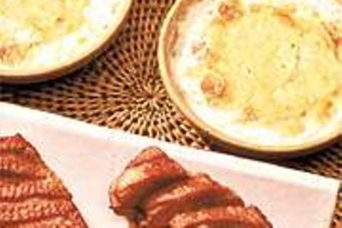 Kartoffelgratin mit Entenbrust