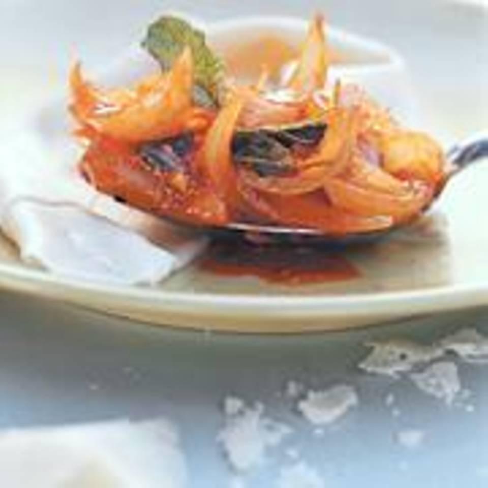 Salbei-Zwiebel-Soße mit Portwein