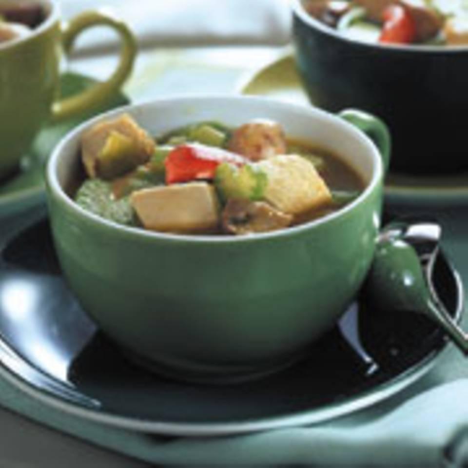Poularden-Curry