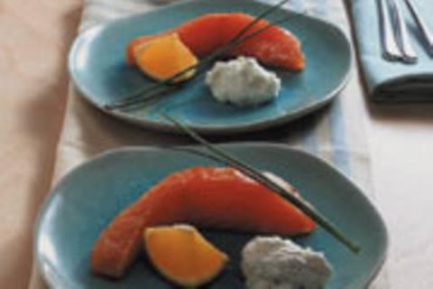 Orangen-Lachs