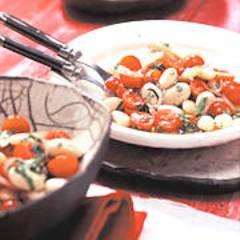 Kirschtomaten-Bohnen-Salat
