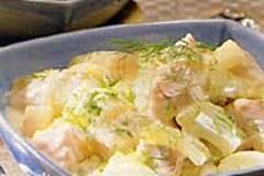 Fisch-Ragout mit Fenchel