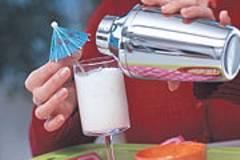 Kokos-Cocktail - Frapê de côco