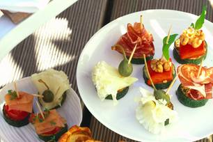 Häppchen mal anders: leckere Zucchini-Pralinen