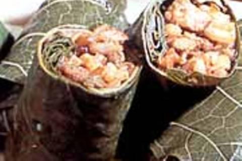 Gefüllte Weinblätter mit Rindfleisch