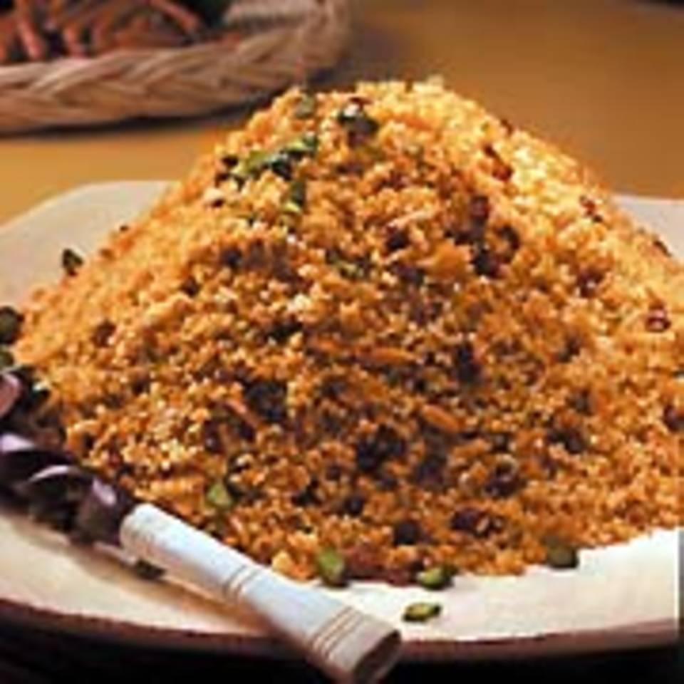 Couscous mit Mandeln und Berberitzen