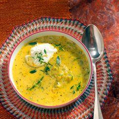 Zucchini-Limetten-Suppe