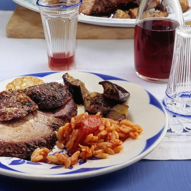 Griechische rezepte lammkeule