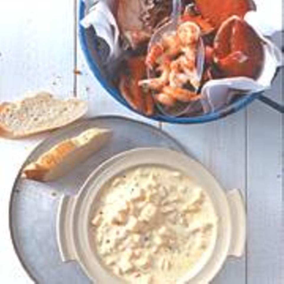 Creabmeat mit Mango-Mayonnaise