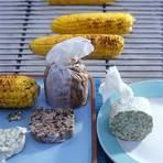 Mais mit gewürzter Butter
