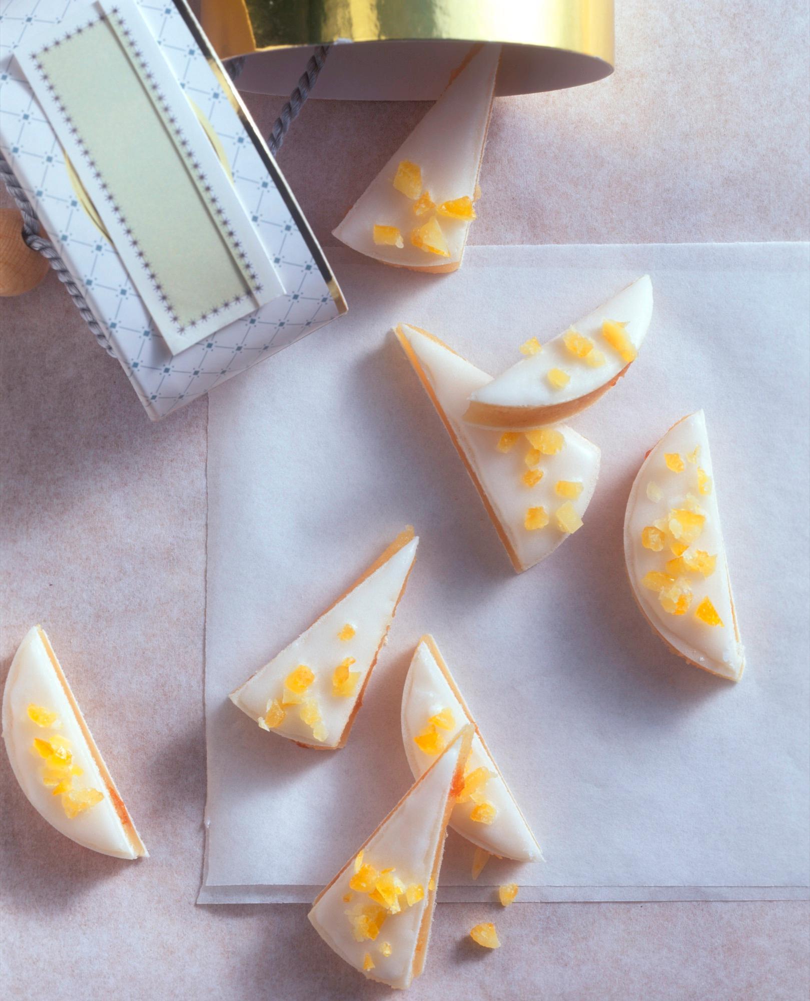 Orangen-Marzipan-Plätzchen