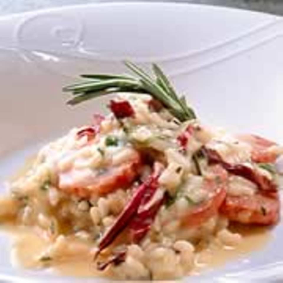 Risotto mit Radicchio und Salsiccia