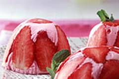 Erdbeer-Charlotte