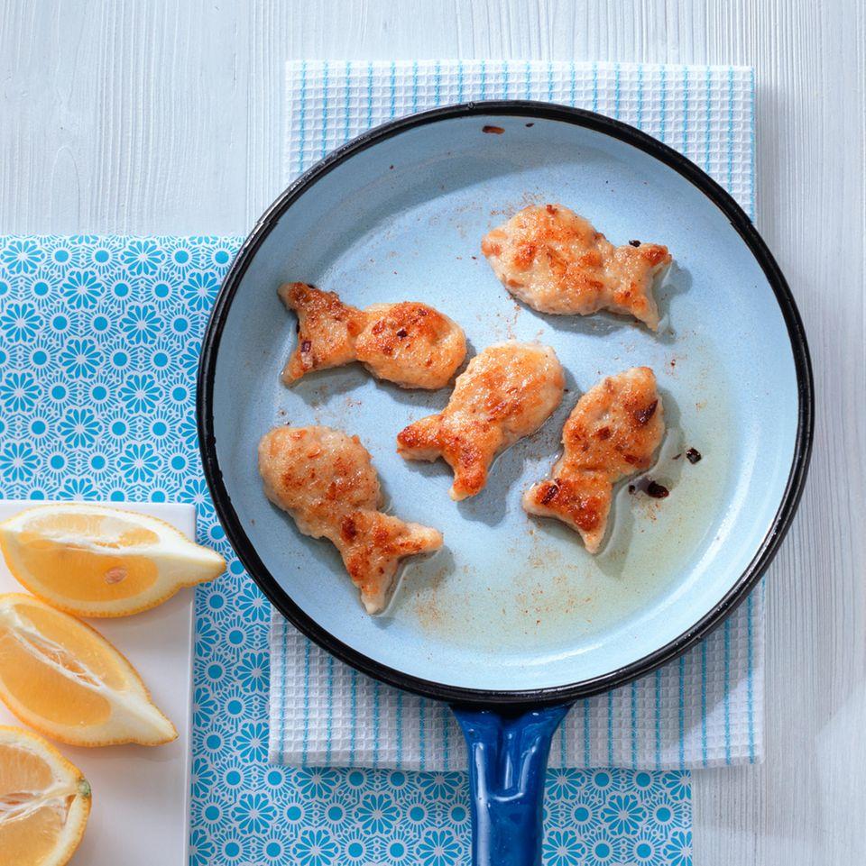 Kleine Fischfrikadellen