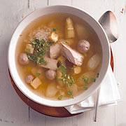 Suppen: Eierstich