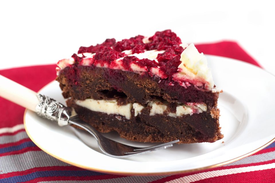 Schoko-Himbeer-Torte