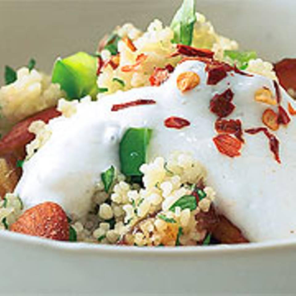 Couscous-Salat mit Datteln