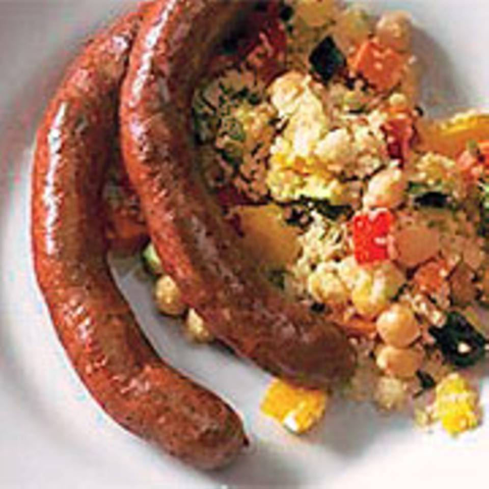 Couscous mit Merguez