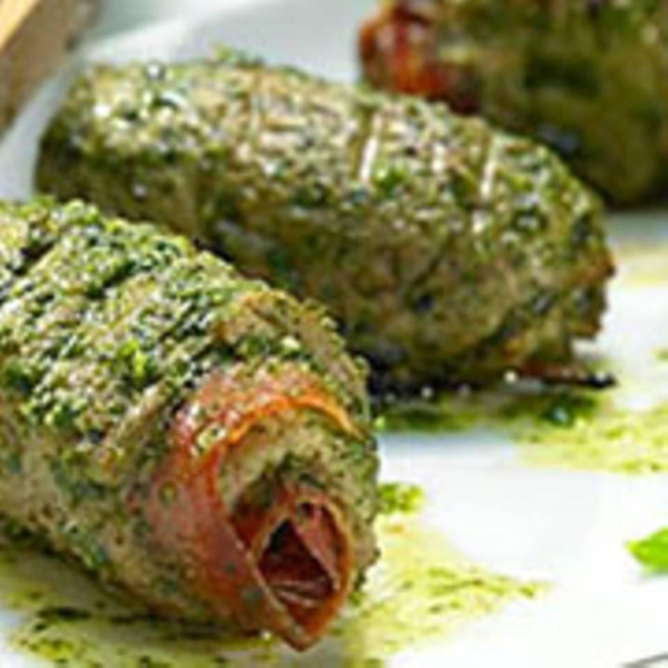 Filetröllchen - Schweinemedaillons mit Parma