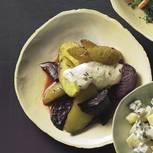 Kartoffel-Rote-Bete-Salat mit Meerrettichsoße