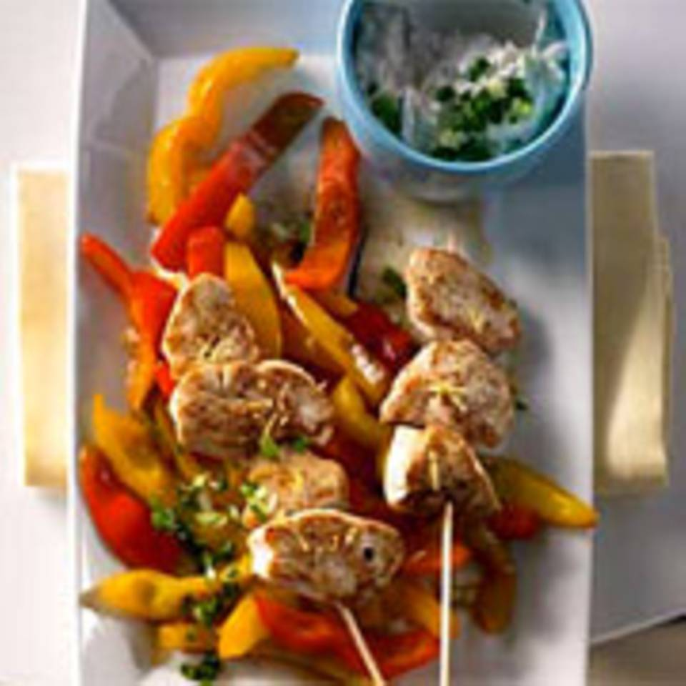 Paprika-Huhn mit Pimiento Cheese