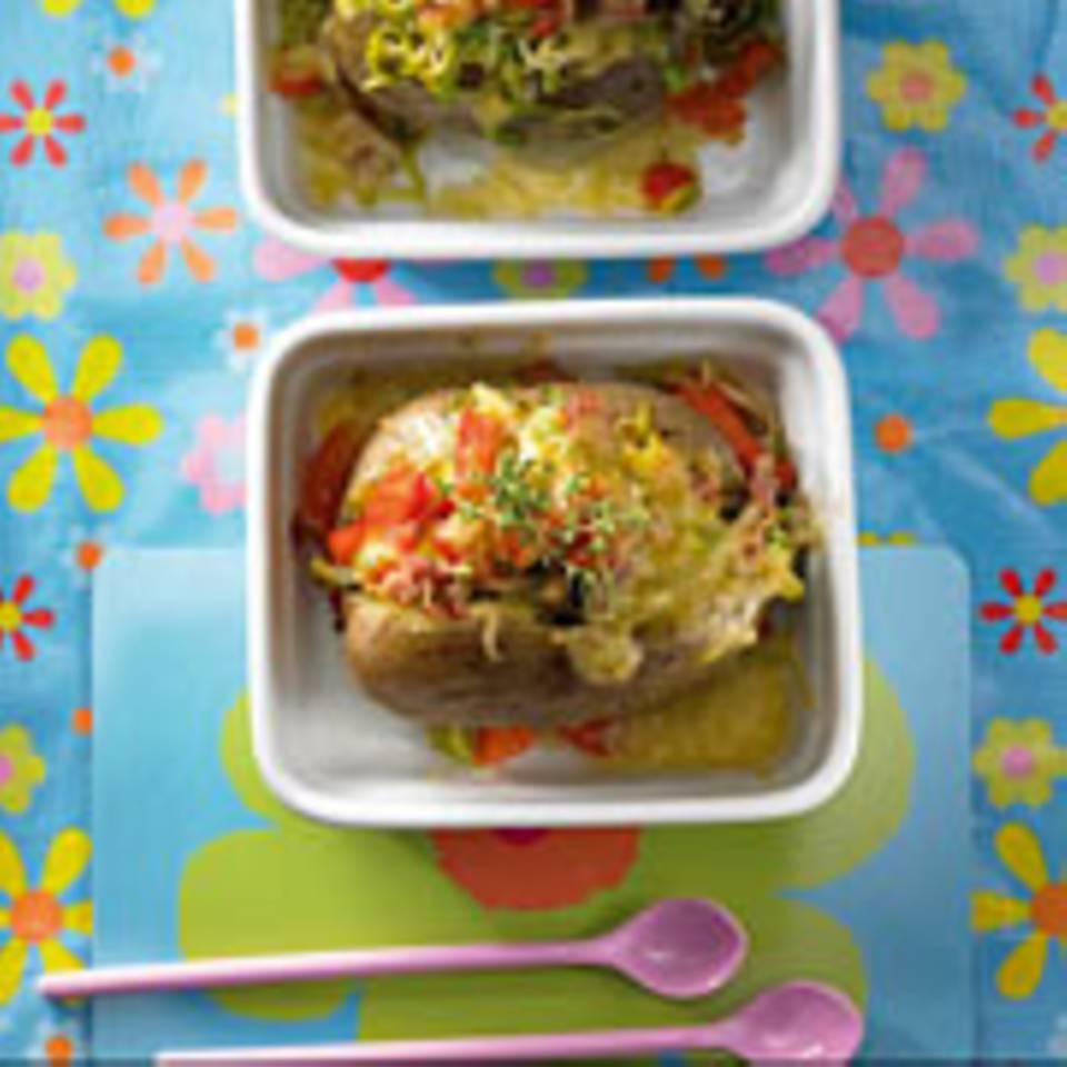 Überbackene Baked Potatoes