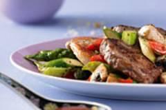 Steak-Pfanne mit Ranch-Gemüse
