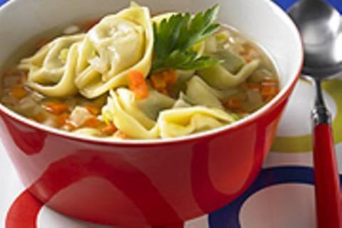 Tortellini-Suppentopf