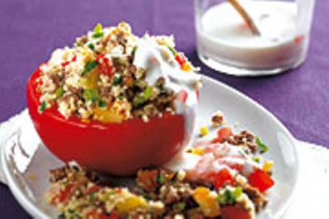 Couscous-Tomate