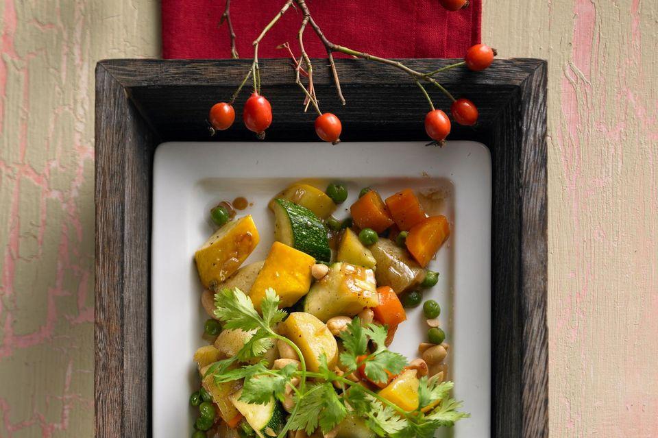 Asiatische Kartoffel-Gemüse-Pfanne