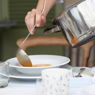 Paprika-Ricotta-Suppe
