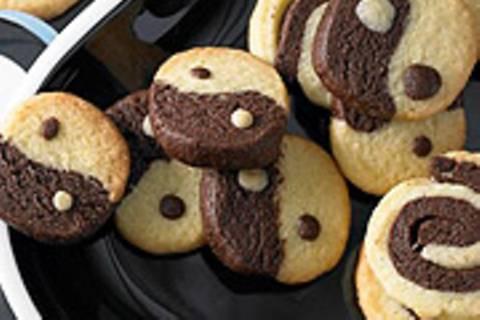 Marmor-Domino-Kekse