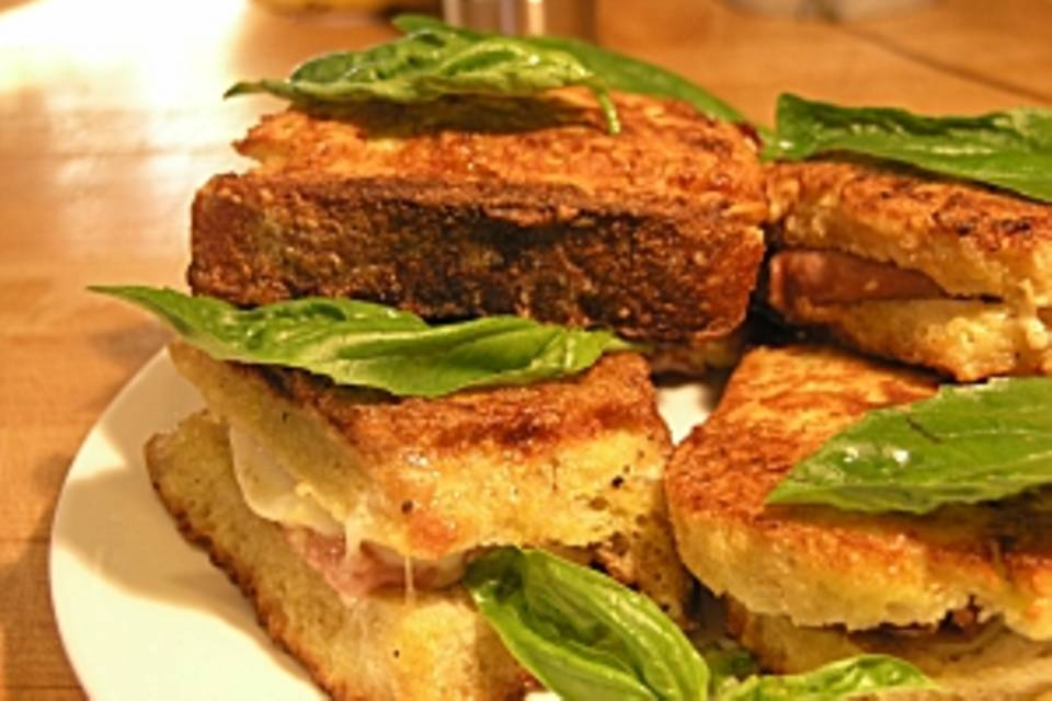 Pandorato (Pikantes Brot aus der Pfanne (Latium))