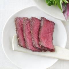 Salatmix mit Grillsteak-Topping